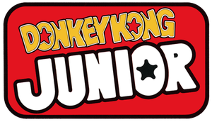 Donkey Kong Junior logo by RingoStarr39