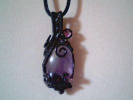 Vial of Violet - Pendant by Carmabal