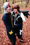Riku - Fall day by Zack-Fair-7