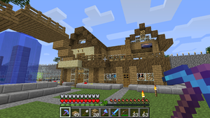My House in Minecraft by Stealthfang