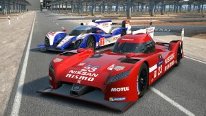 Nissan LM Vs Toyota LM by NightmareRacer85