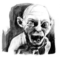 Gollum by RobD4E