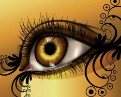 eye in illutrator by theresa carr by DesignbyTheresaCarr3