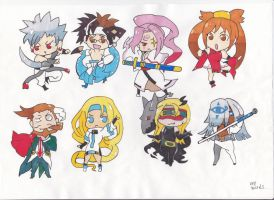guilty gear chibis 2 by demonjester55