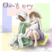 Don't cry - Chibitalia by InuLoverNr1Hitomi