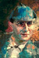 Commission: Jeremy Brett by ladynlmda