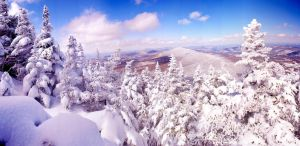 Killington peak landscape by Locopelli