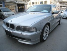 BMW 528i Body kit Silver by sniperbytes