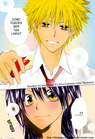 Kaichou wa maid-sama Colored by Shinigamihanamisu