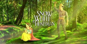 Snow White and the Huntsman by nackmu