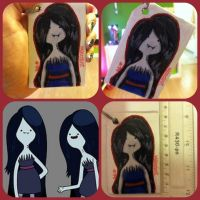 Marcy Keychain by cali-cat