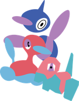 Porygon's by Andie200