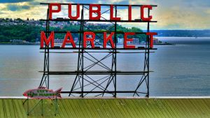 Pike Place HDR by Mackingster