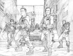 Ghost Busters pages 1 and 2 by martheus
