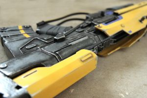 Cosplay Props: The Strangers' Rifle (close up) by LittleBlondeGoth
