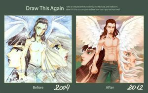 Draw this Again Challenge by MiriArt