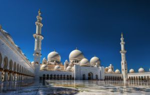 Sheikh Zayed Mosque I by roman-gp