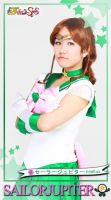 Sailor Jupiter Trading Card by noshuu