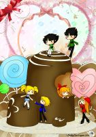 PPG RRB- Choco Kingdom by NickyLuvEeyore