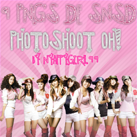 9 Png's of SNSD Oh Photoshoot by NyappyGirl99