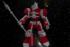 Mighty Morphin' LEGO Rangers: Lord Zedd by AndiusMaximus
