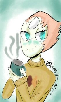 sweater pearl by Dmotheartist