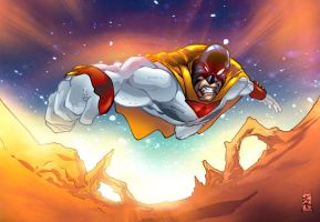 SPACE GHOST GIFT by jotade22