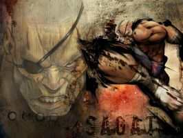 Sagat wallpaper by deexie