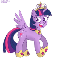Princess Twilight Sparkle by ScoBionicle99