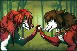 Truce? ... Hell no by Kilioka