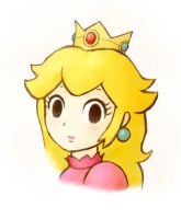 Princess Peach by toonlv