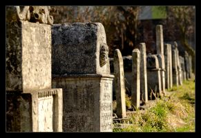 Old Jewish Graves by skarzynscy