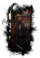 The Dark Side: Darth Maul by yellow-five