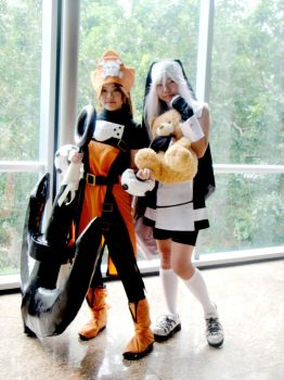 May and Bridget Cosplay AFAX by LittleLaki
