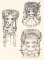 Indian Sketches by XkY