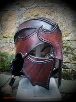 Helmet of the Kingsguard by baehrserker