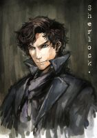 Sherlock speed paint by inklou