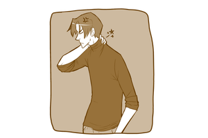 Older chris has neck pains by Wynt