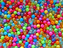 Coloured Beads 2 by aneesah