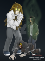 Left 4 Dead Infected Trio by xXPariahsXx