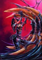 Donna Troy symbiote by cric