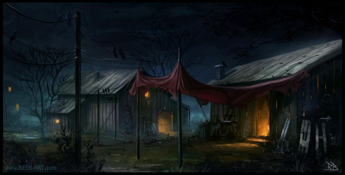 Scary Old Shed by RogierB