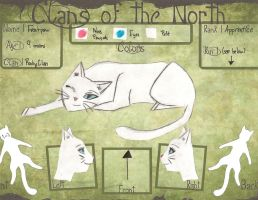 Frostpaw - Clans of the North Application ^^ by krislove45