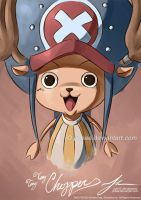Chopper: Painting by Jinbae