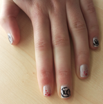 Unreal Tournament nail art by Nv8x