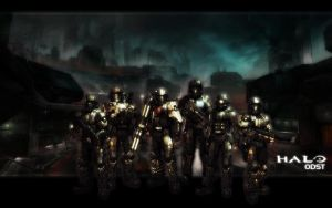 Halo ODST Team by falconfliesalone
