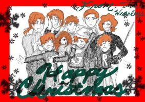 Weasley's Christmas Photo by KingdomCity6239