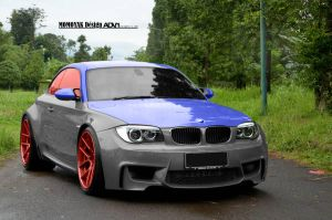 BMW E82 1M Coupe AD1 by MOMOYAK by MOMOYAK
