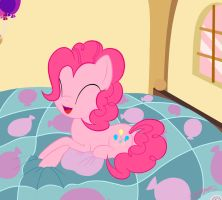 Pinkie's bed by DashBoom