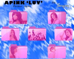 APINK 'LUV' Folder icons by sangjang